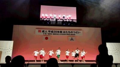城東高校ダンス部のパフォーマンス