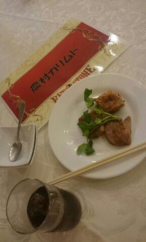 東京オフ料理