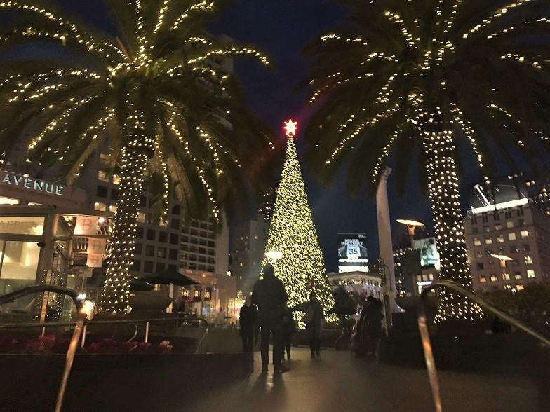 ユニオンスクエアのツリー