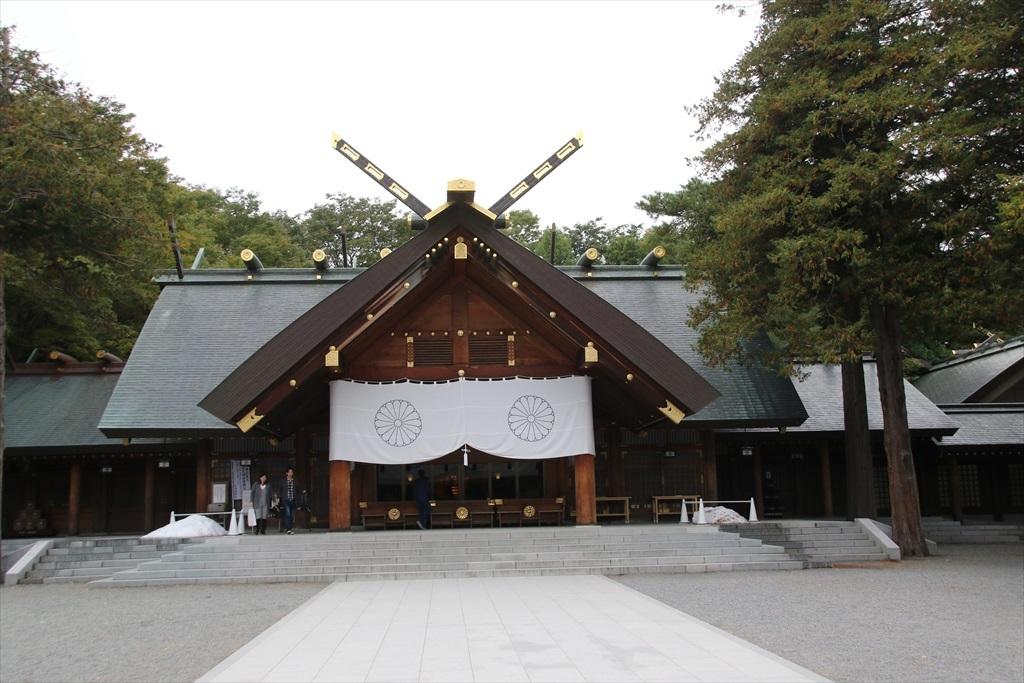 北海道神宮_拝殿_1