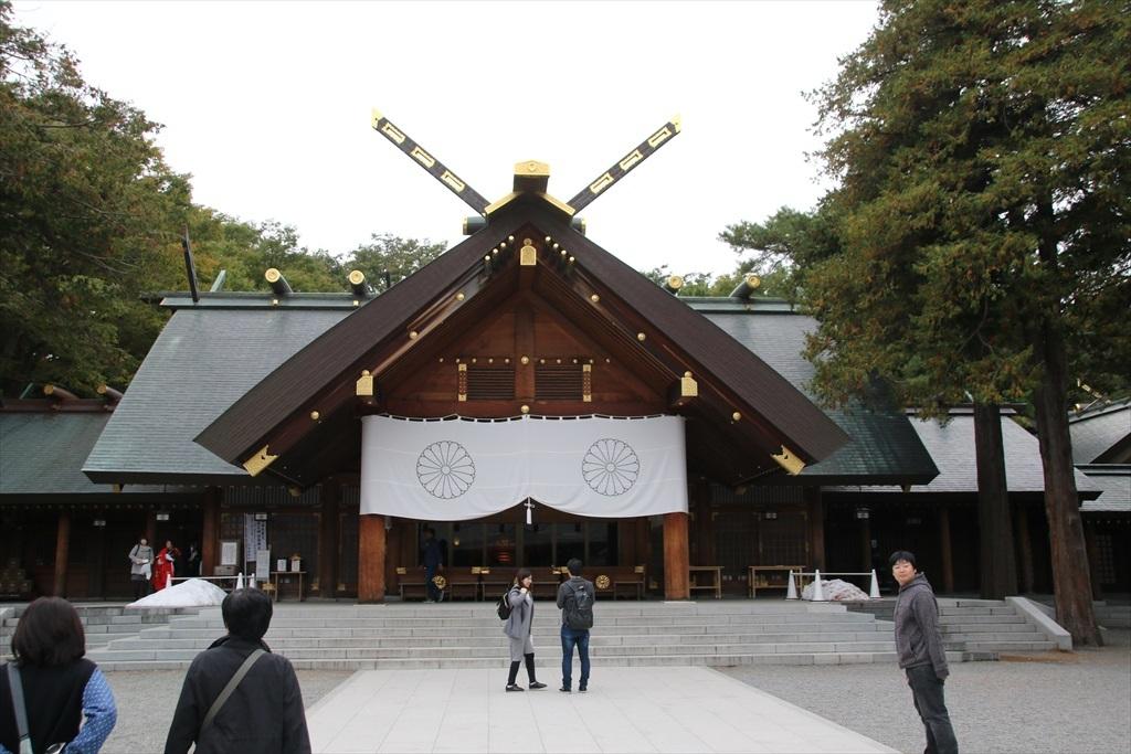 北海道神宮_拝殿_2