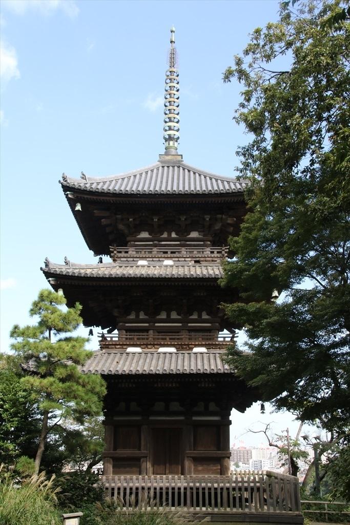 旧燈明寺三重塔【重要文化財】_1