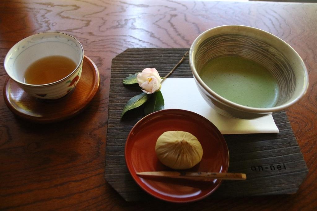 安寧の茶菓