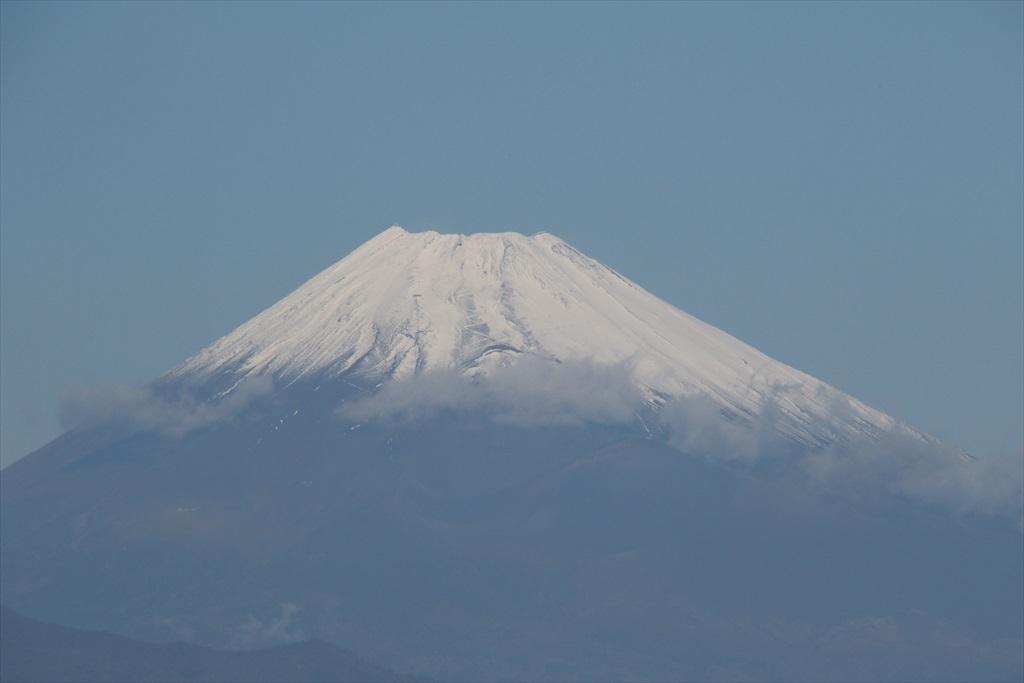 バスを降りたときの富士山_1