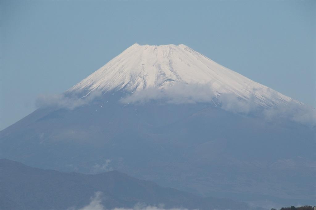バスを降りたときの富士山_2