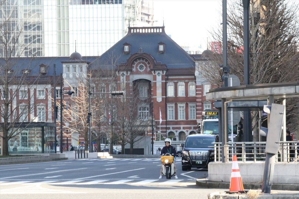 JR東京駅丸の内口 【国指定重要文化財】
