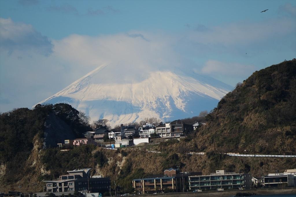 材木座海岸から見た富士山_1