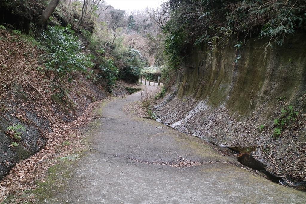 鎌倉市側の入口が見えてきた_1
