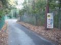 161210国道308号に合流し矢田への狭路区間に入る