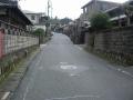 170103関津峠を上って行く