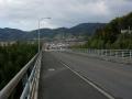 170121恭仁大橋を渡り、国道163~和束方面へ
