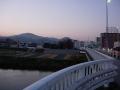 170128国豊橋から大和川を国分側に渡る