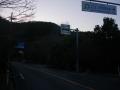 170128左折してグリーンロードを離脱。竹内峠へ