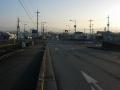 170128竹内交差点は直進して大和高田方面へ