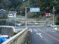 170204金剛山に向かって左折