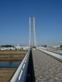 170204石川サイクル橋を渡る
