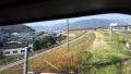 161218木津川の自転車道を車窓から