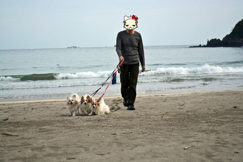 砂浜ウォーク_2