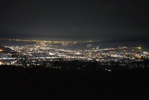 伊豆スカイライン夜景