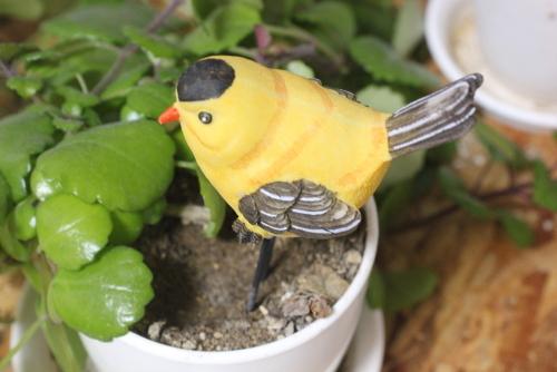 植木鉢 トリさん