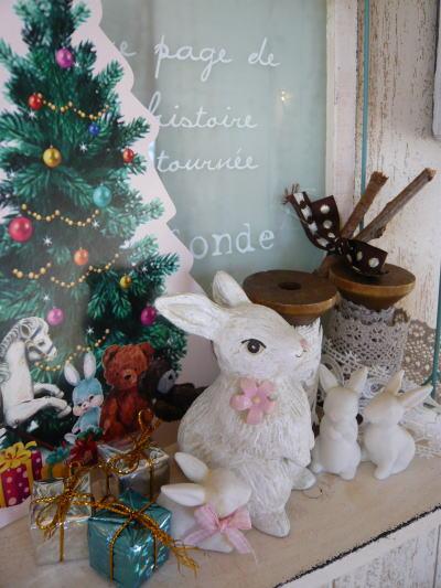 ブログ1224クリスマスディスプレイ