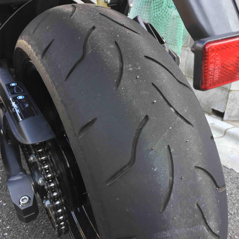 タイヤ 寿命 バイク