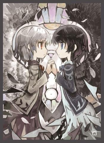 白サグメ&黒サグメ