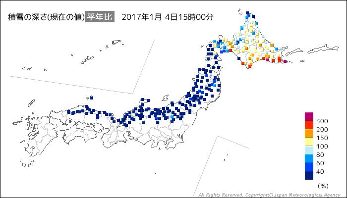20170104積雪深平年比