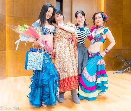 Yokoさん、姉、真梨子さん