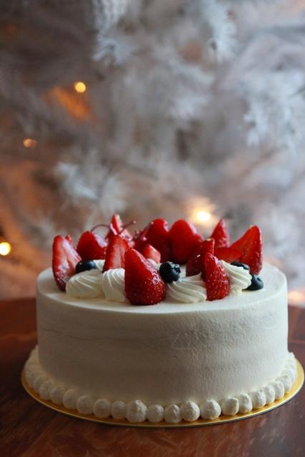 201612_クリスマスケーキ1