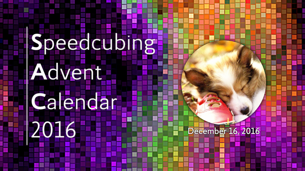Speedcubing Advent Calendar 2016
