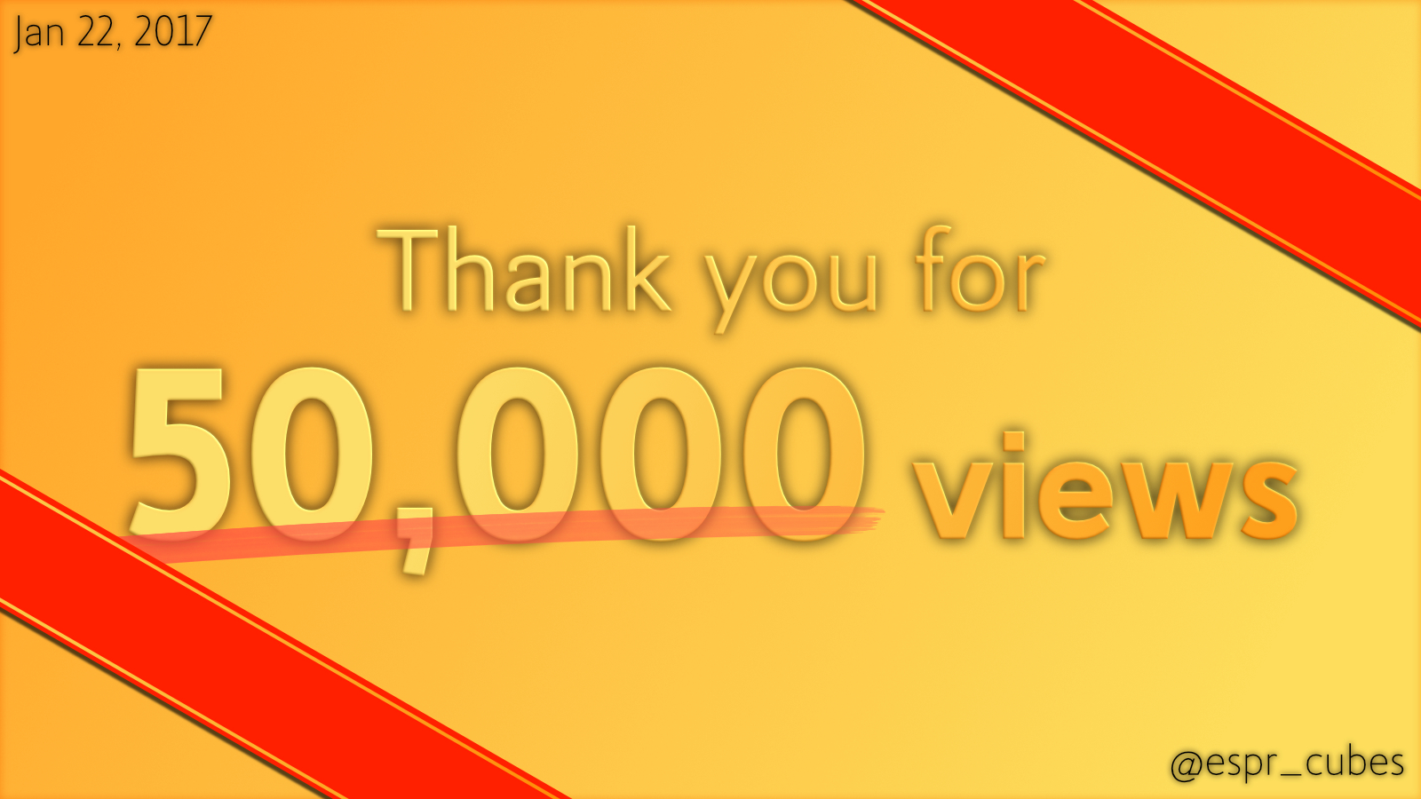 Thank you for 50k views