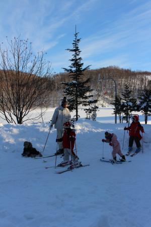 スキーの練習2