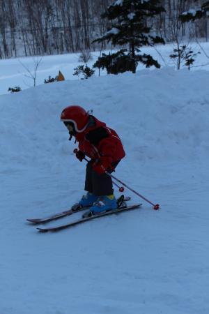 スキーの練習3