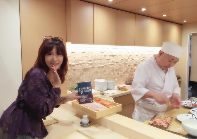 麻奈先生と駒つばきの料理長さん