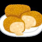 食べ物(カニクリームころっけ)