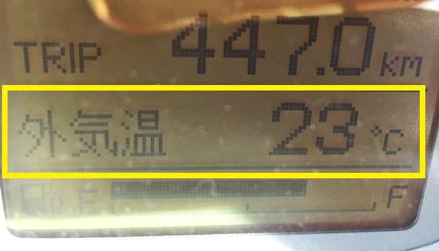 11月末外気温