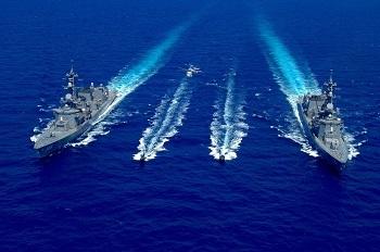 護衛艦の活動