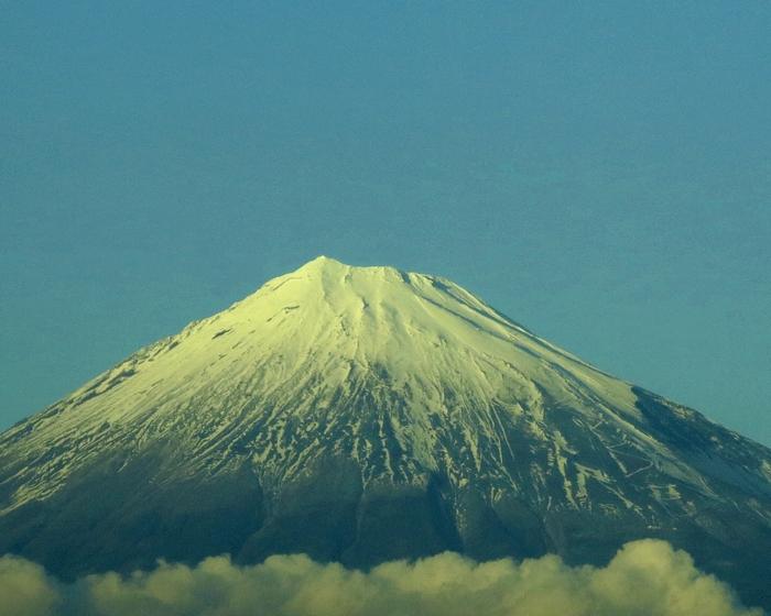 富士山 2016 12 3 新幹線から 1 7129