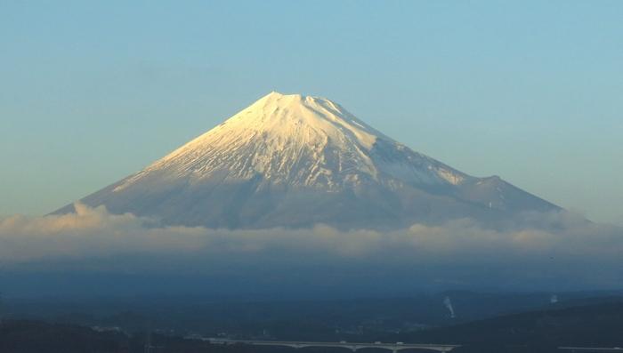 富士山 2016 12 3 新幹線から 7 7152