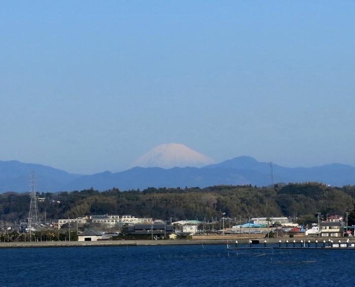 富士山 はまゆう大橋から 2017 1 28 7476