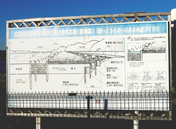 佐鳴湖 東岸 水質浄化装置の説明 2017 1 26 2 7436