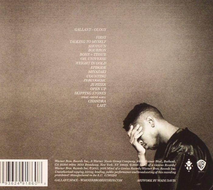 Ology Back (CD)