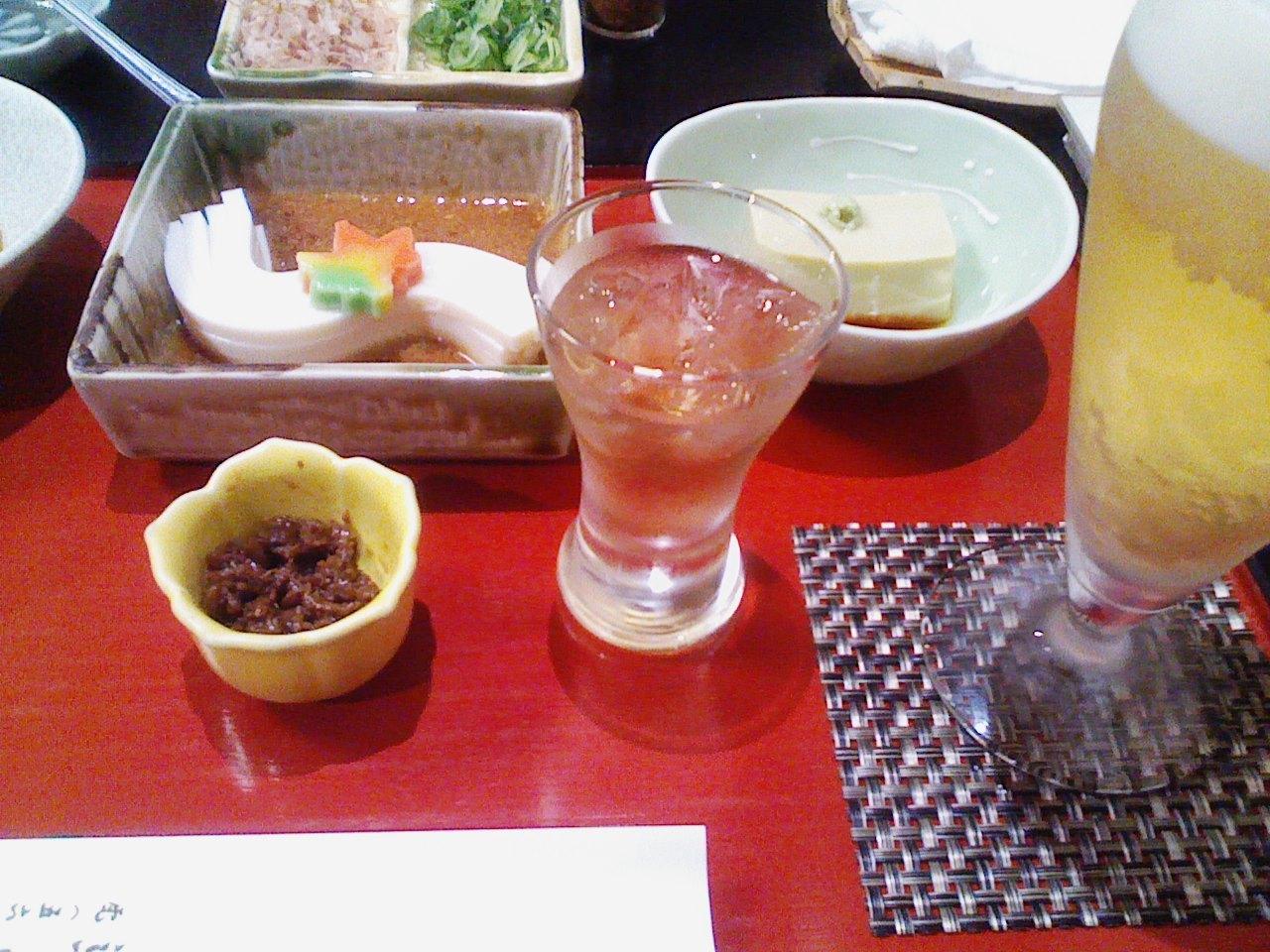 蓮月茶や_とうふ料理コース