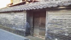 谷中 観音寺の築地塀