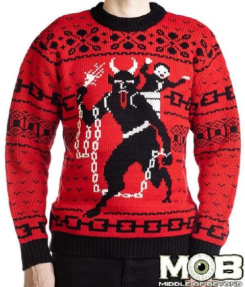 クリスマスシーズンに現れる悪魔 クランプス