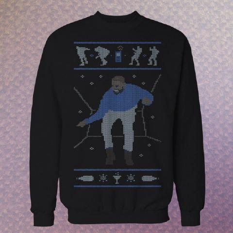 ドレイクのhotline blingのMVを模したセーター