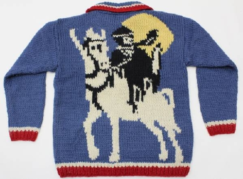 鞍馬天狗のセーター