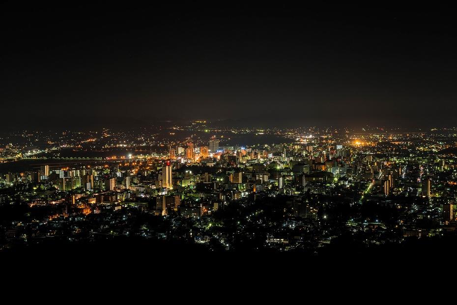 2016.10.31盛岡市の夜景2