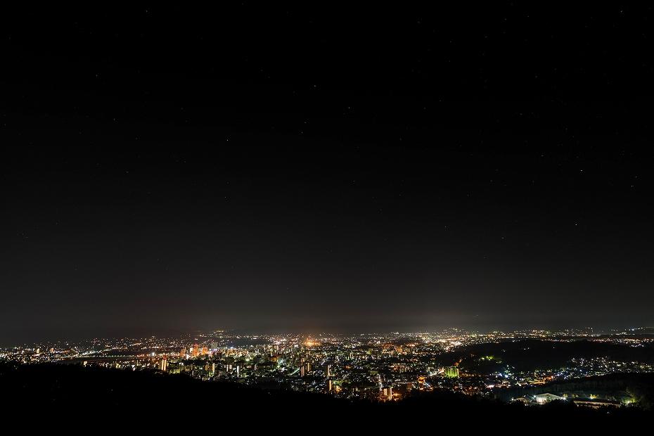 2016.10.31盛岡市の夜景1